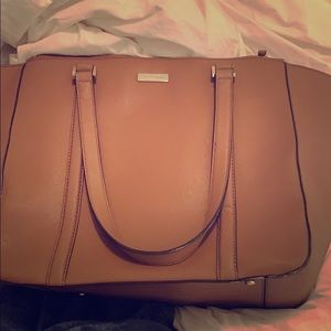 Brown leather Kate Spade tote